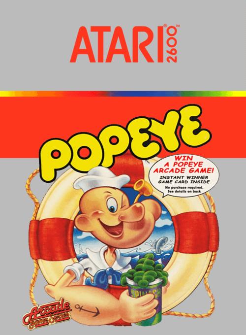 Caixa do cartucho do Atari 2600