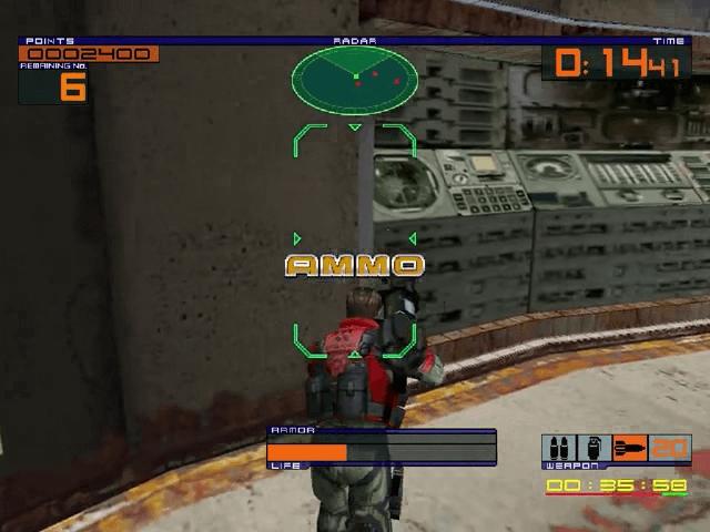 Outtrigger Dreamcast, jogo em curso!