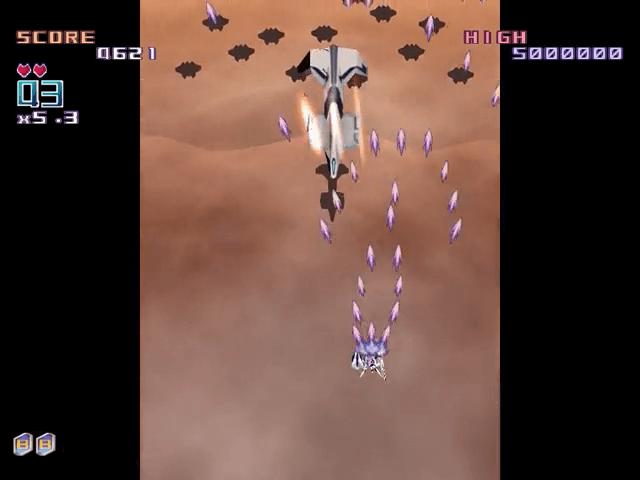 Triggerheart Exelica Dreamcast, jogo em curso!