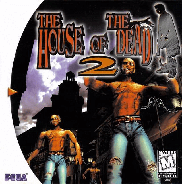 The House of the Dead 2 Dreamcast-cover game!