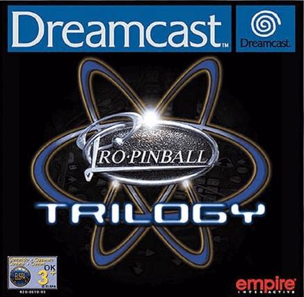 Pro Pinball Trilogy Dreamcast, capa do jogo!