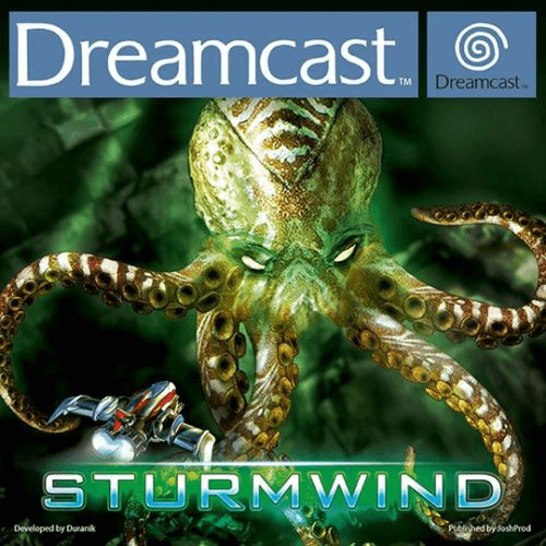 Sturmwind Dreamcast-cover game