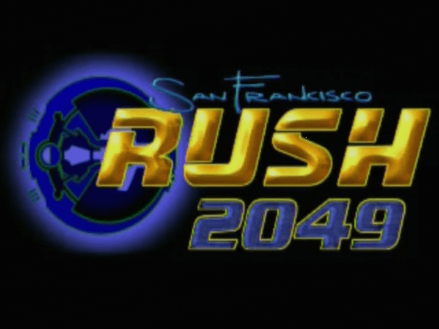 San Francisco Rush 2049 Dreamcast.