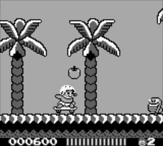Adventure Island Nintendo Game Boy