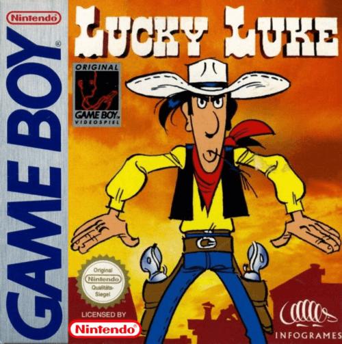 Lucky Luke Nintendo Game Boy