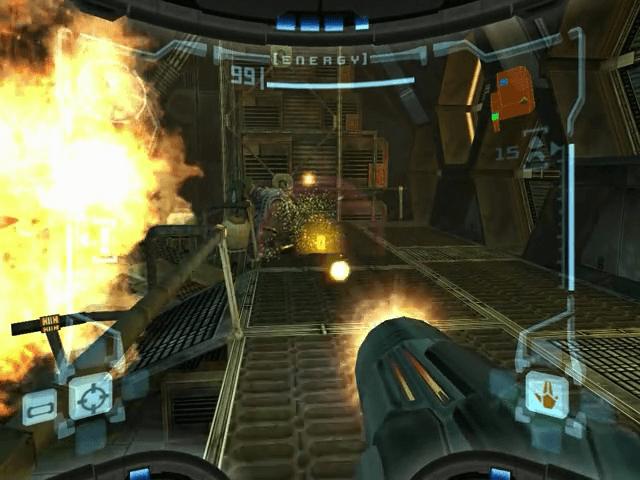 Metroid Prime, jogo em curso GameCube!