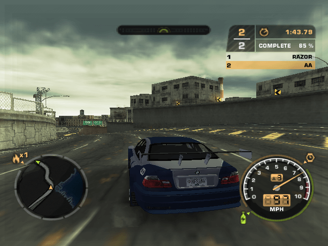 Need for Speed Most Wanted   Nintendo GameCube