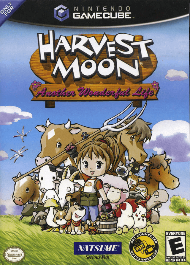 Harvest Moon: A Wonderful Life Gamecube-cover game!
