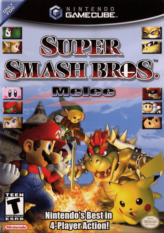 Super Smash Bros Melee Gamecube cover game!