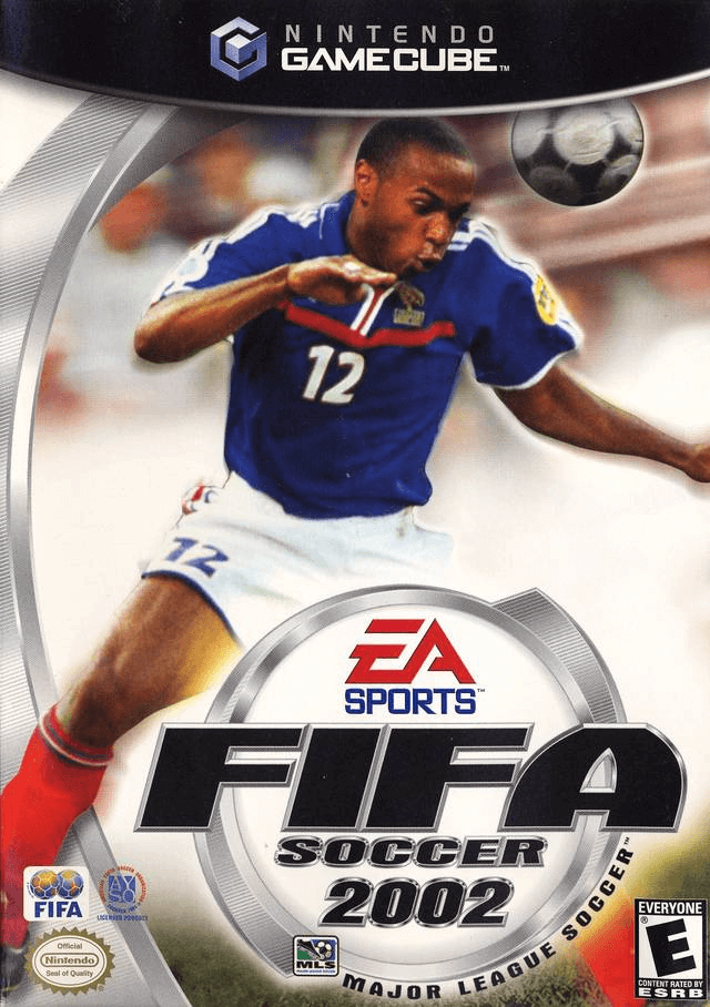 2002 FIFA World Cup-Gamecube cover game/capa