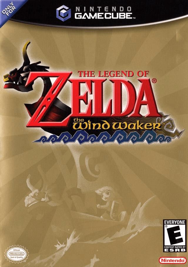 The Legend of Zelda: The Wind Waker, covergame Gamecube, foto: reprodução!