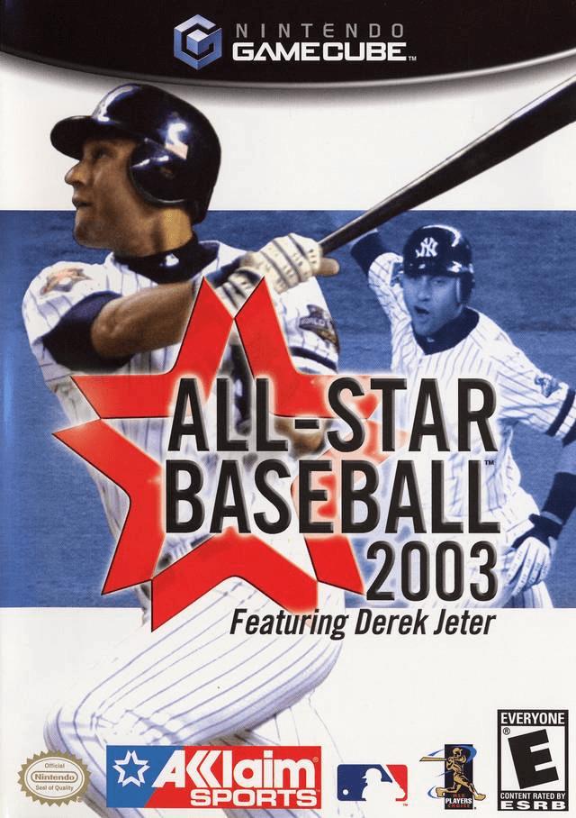 All-Star Baseball 2003-cover game gamecube