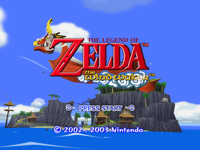 The Legend of Zelda: The Wind Waker Gamecube-tittle game