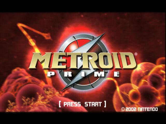 Metroid Prime, title game,
