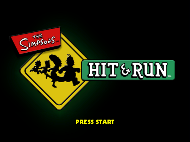 The Simpsons: Hit & Run, title game
