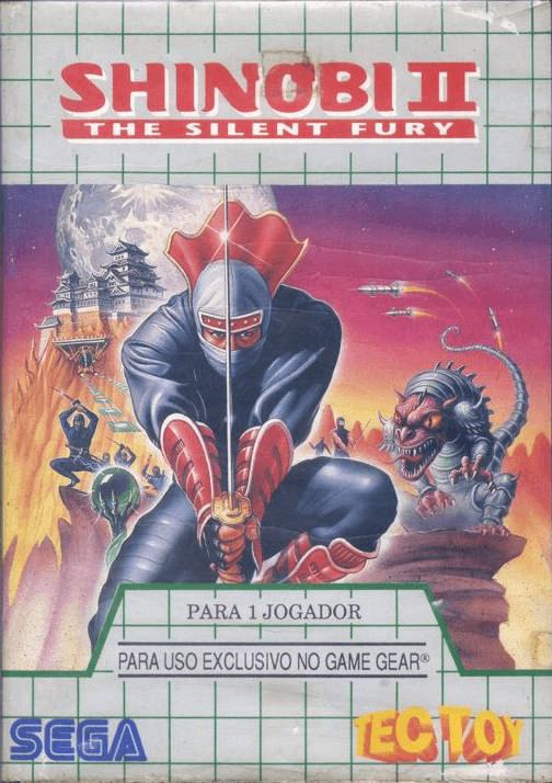 Shinobi Ii The Silent Fury Sega Game Gear