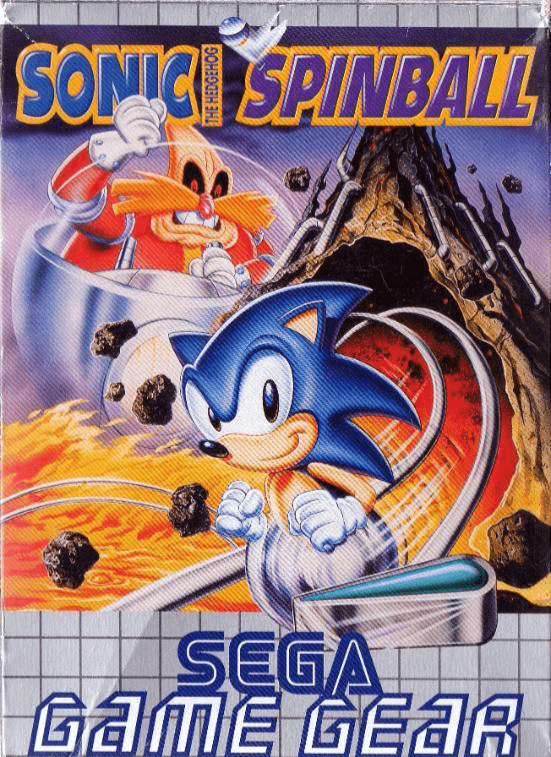 Sonic The Hedgehog Spinball Sega Game Gear