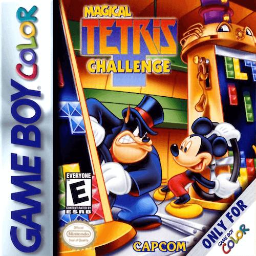 Magical Tetris Challenge Nintendo Game Boy Color