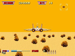 After Burner II Sega MegaDrive