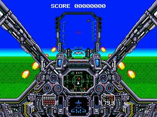 Air Diver Sega MegaDrive,
