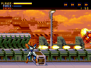 Alien Soldier Sega MegaDrive-Epsilon-Eagle,