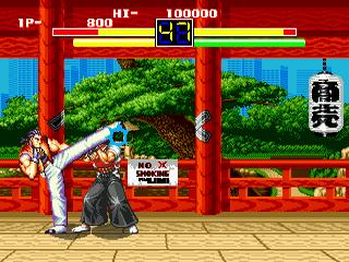 Art of Fighting Sega Genesis, game,