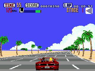 OutRun Sega Genesis,