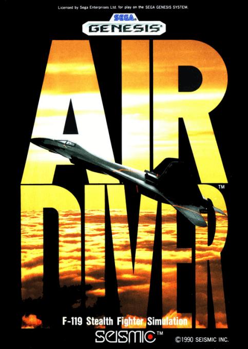 Air Diver Sega MegaDrive-cover game