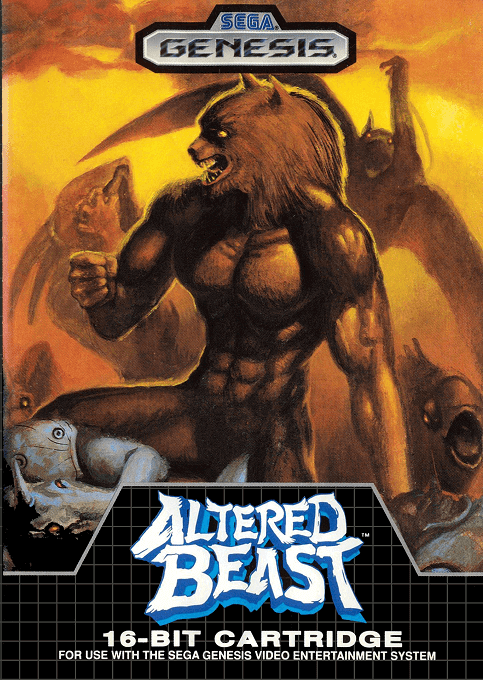 Altered Beast-cover game sega genesis versão