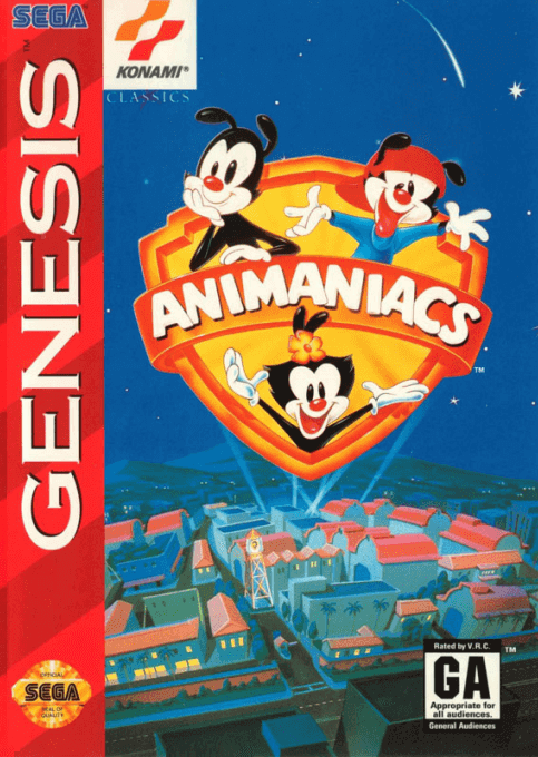 Animaniacs, cover game