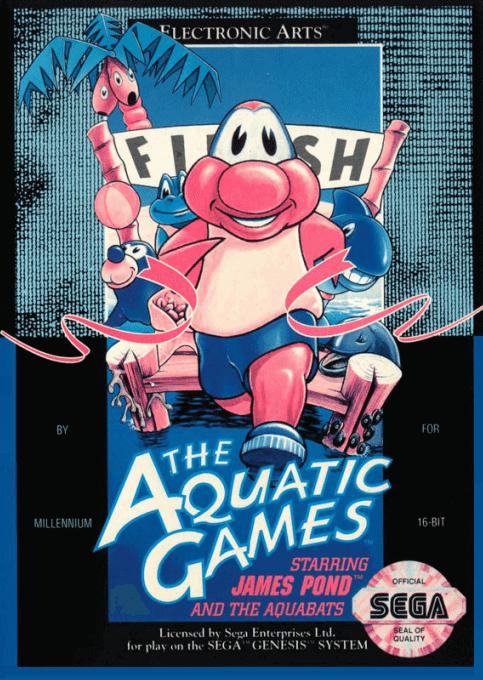 Aquatic Games sega genesis Download/cover