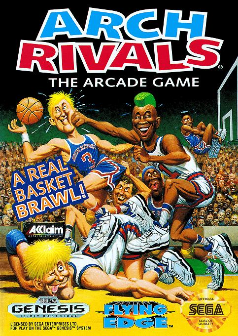 Arch Rivals Sega MegaDrive ROM