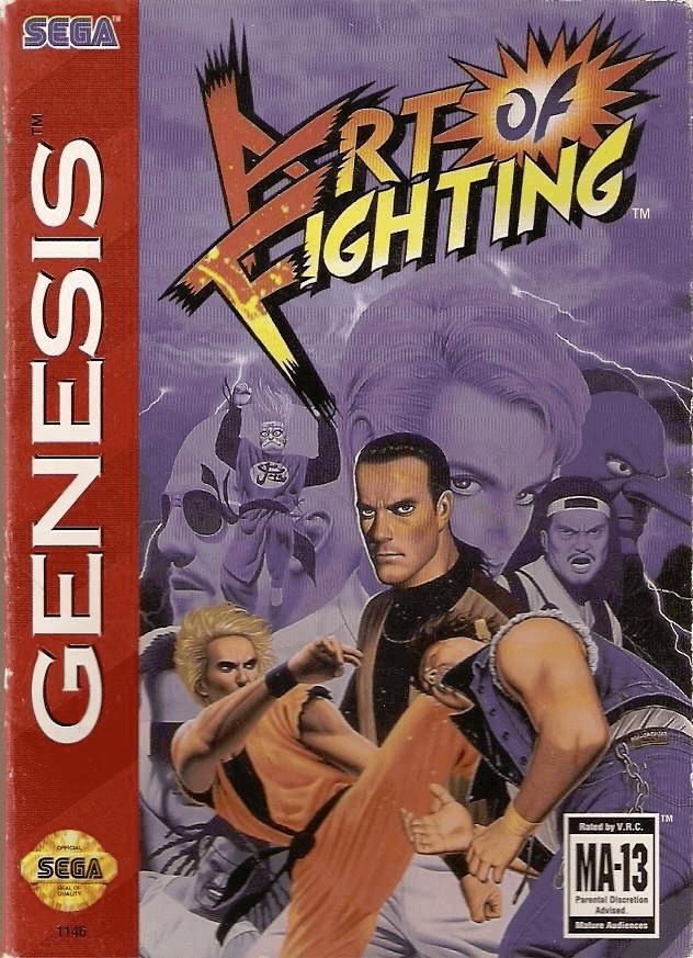 Art of Fighting Sega Genesis/Baixar ROM