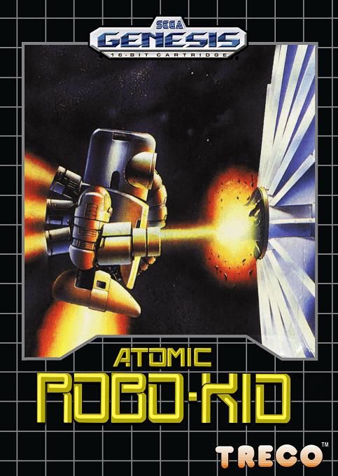 Atomic Robo Kid Sega Mega Drive Genesis