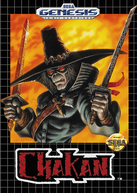 Chakan: Sega Genesis-cover game!