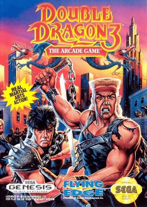 Double Dragon 3 The Arcade Game Sega Mega Drive Genesis