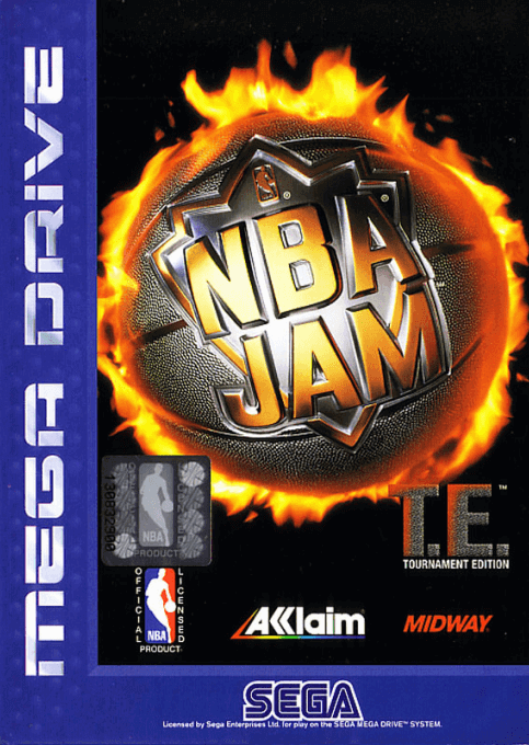Nba Jam Tournament Edition Sega Mega Drive Genesis