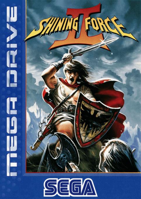 Shining Force Ii Sega Mega Drive Genesis