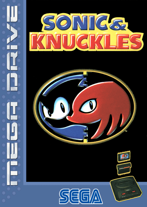 Knuckles mega drive sonic and