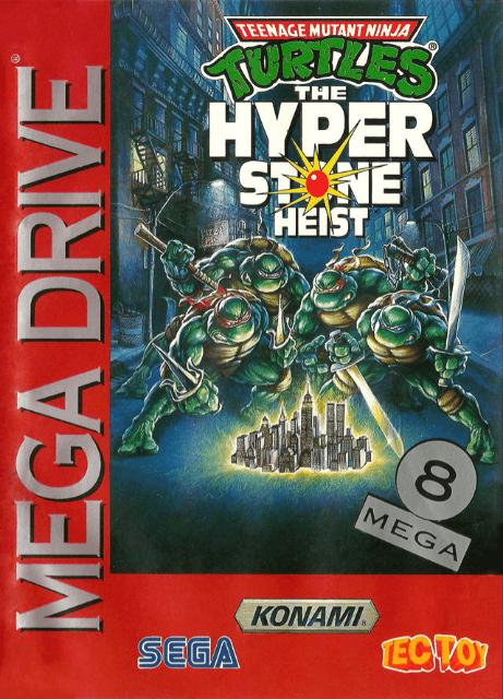 Teenage Mutant Ninja Turtles The Hyperstone Heist Sega Mega Drive Genesis