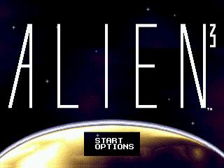 Alien 3 Sega Genesis-title game/ titulo do game!