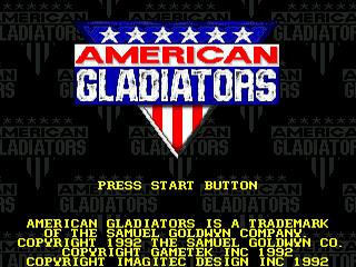 American Gladiators, tela de titulo
