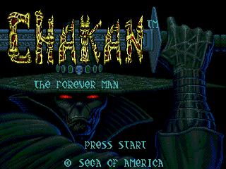 Chakan: Sega Genesis
