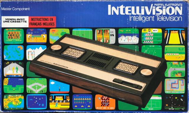 169332  Mattel Intellivision