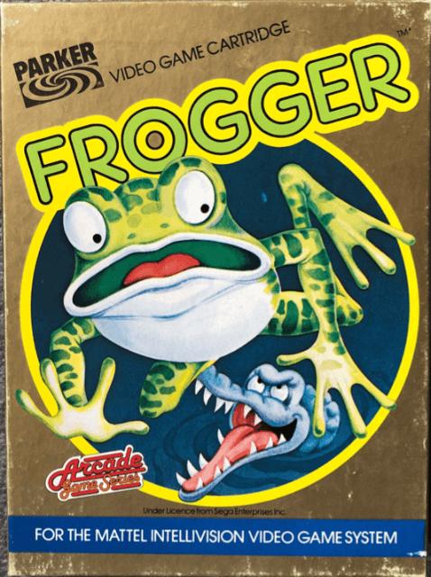 Frogger | Mattel Intellivision
