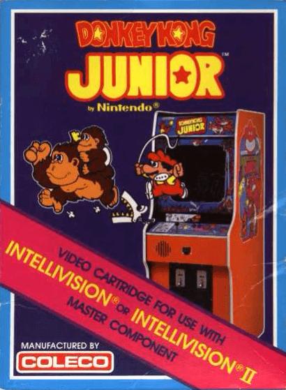 Donkey Kong Junior Mattel Intellivision