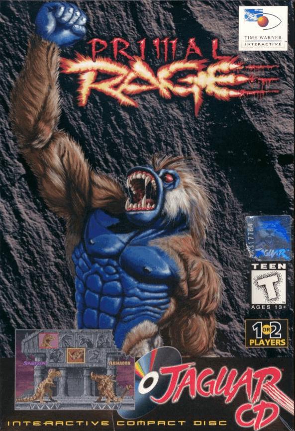 Primal Rage Atari Jaguar Cd