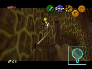 The Legend of Zelda: Ocarina of Time N64-game in course!