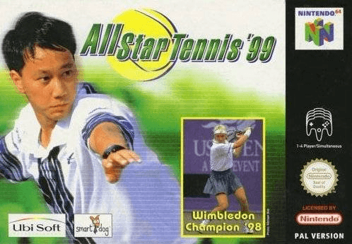 All Star Tennis '99-cover game n64