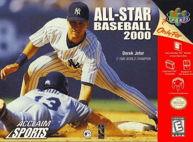 All-Star Baseball 2000 N64-COVER GAME